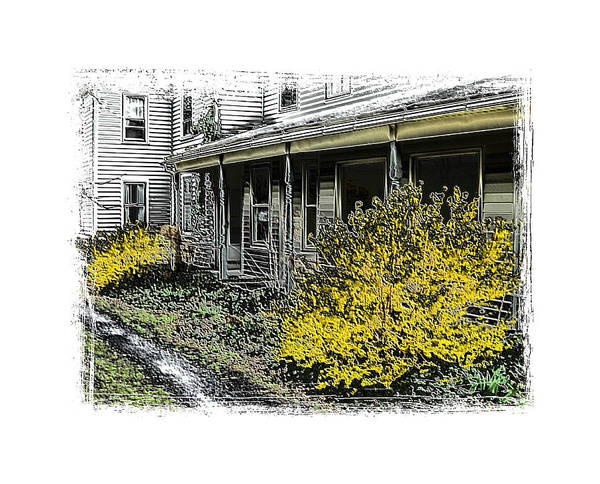 Landscape Art Print featuring the photograph Old Homeplace by Robert Boyette