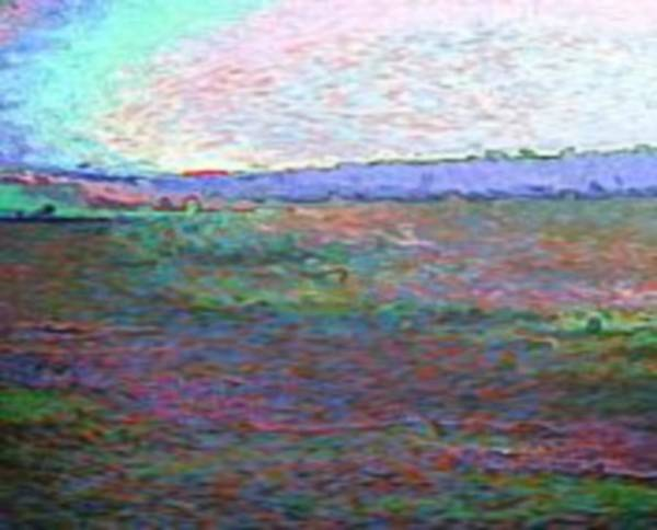Landscape Art Print featuring the digital art Sea.miracle Sunset Color Symphony 2 by Dr Loifer Vladimir
