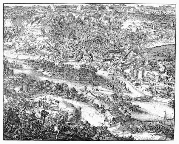 1683 Art Print featuring the photograph Siege Of Vienna, 1683 by Granger