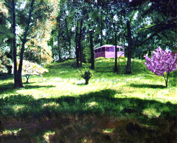 Landscape Art Print featuring the painting T C Steel by Stan Hamilton