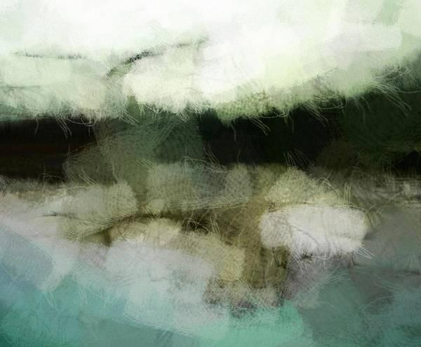 Landscape Art Print featuring the digital art Early Morning Flight by Gun Legler