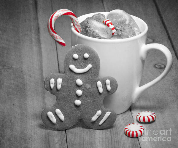 Baked Art Print featuring the photograph Snack For Santa by Juli Scalzi