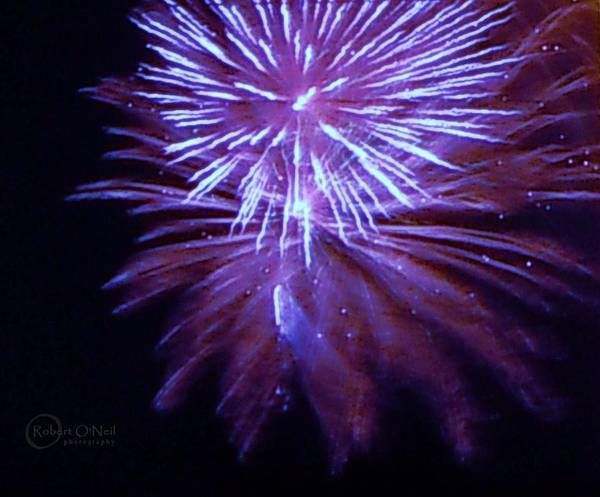 4th Of July Art Print featuring the photograph The Bombs Bursting In Air by Robert ONeil