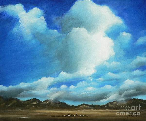 Acrylics Art Print featuring the painting The Rockies by Artist ForYou