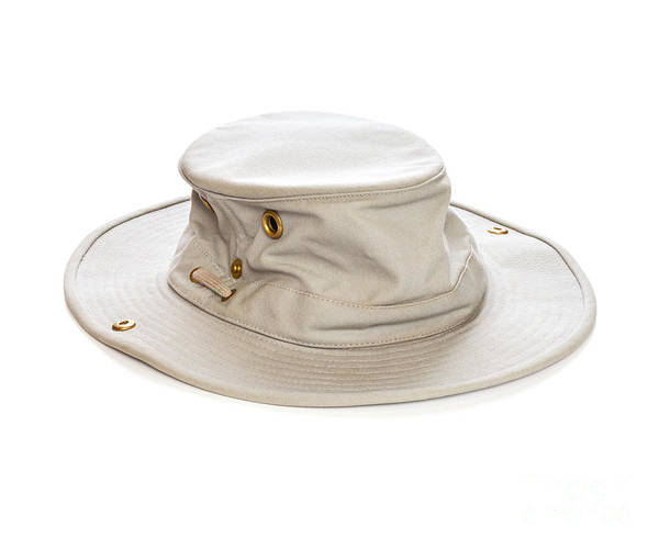 Tilley Hat Art Print featuring the photograph Tilley Hat by Colin and Linda McKie