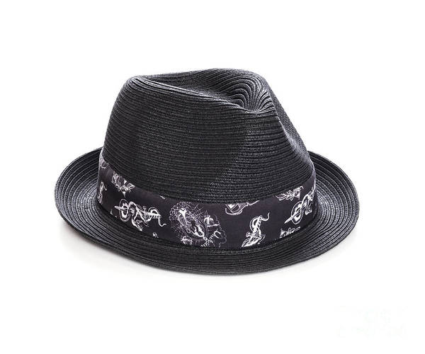 Trilby Art Print featuring the photograph Trilby Hat by Colin and Linda McKie