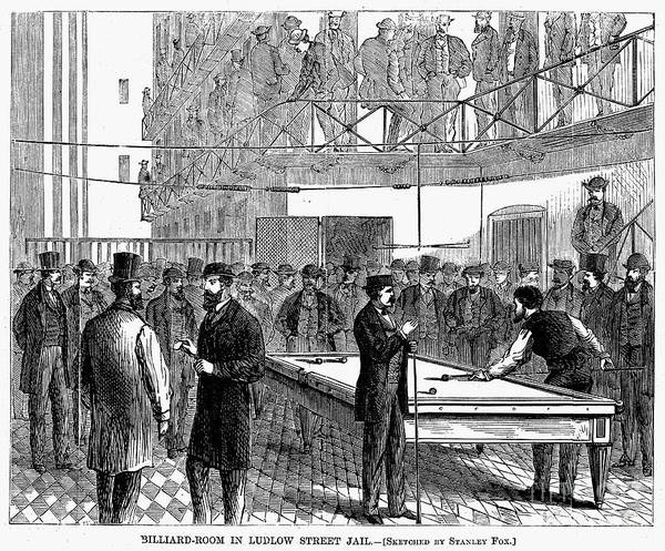 1868 Art Print featuring the photograph Ludlow Street Jail, 1868 by Granger