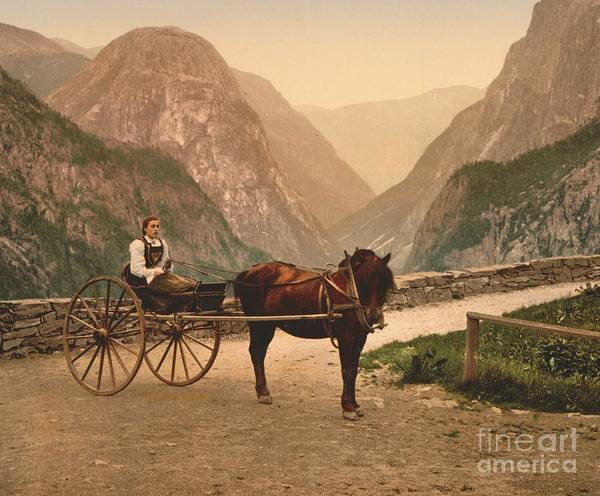 Norwegian Carriage Art Print featuring the photograph Norwegian Carriage by Padre Art