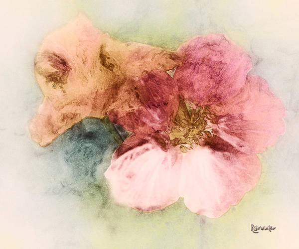 Flowers Art Print featuring the digital art Gone Native by RC DeWinter