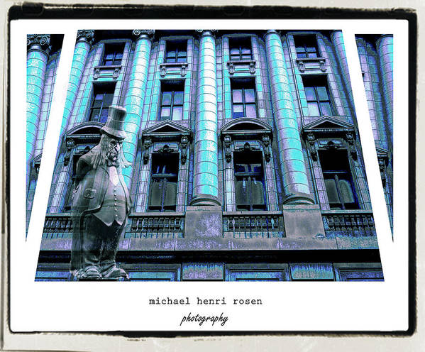 Building Art Print featuring the photograph Haunted by Michael Rosen