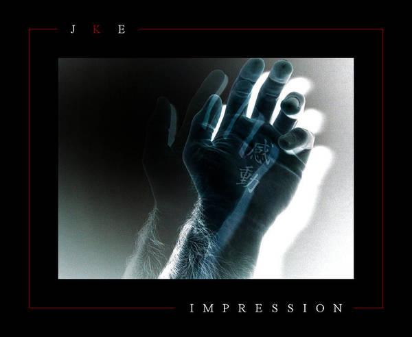 Hand Art Print featuring the photograph Impression by Jonathan Ellis Keys