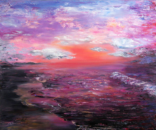 Love Art Print featuring the painting Love Sunsets And Dawns by Svetlana Artemova