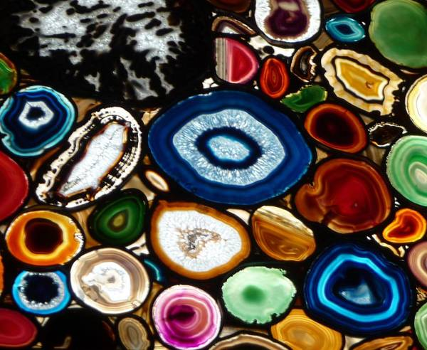 Swiss Geodes Art Print featuring the photograph Swiss Geodes by Cathy Bronsdon