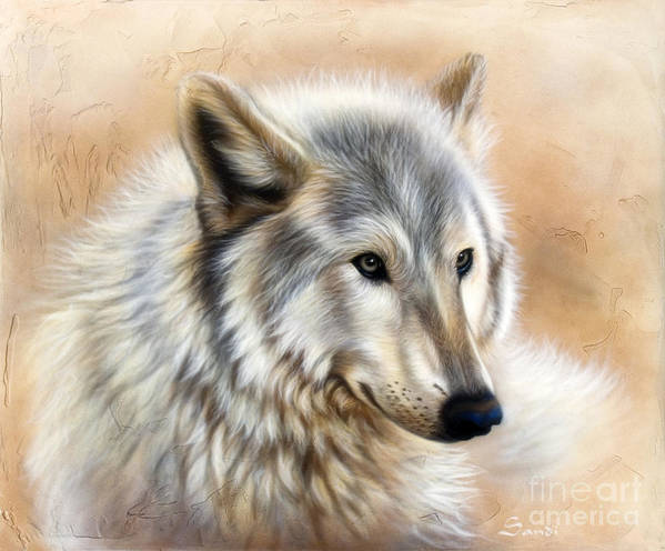 Acrylic Art Print featuring the painting Trace by Sandi Baker