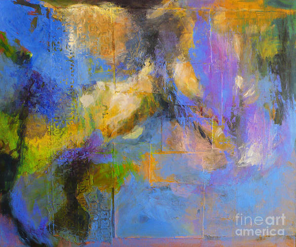 Nature Art Print featuring the painting Agua by Melody Cleary