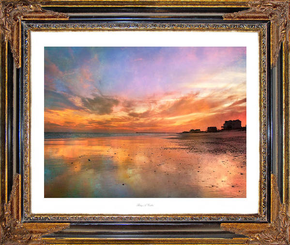 Topsail Art Print featuring the photograph Lasting Moments by Betsy Knapp