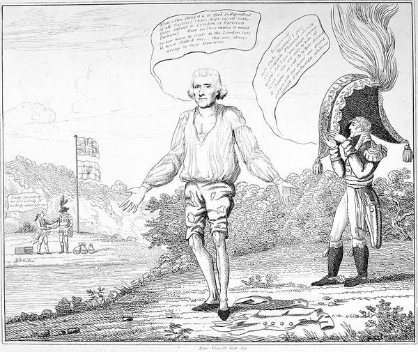 1809 Art Print featuring the photograph Embargo Repeal, 1809 by Granger