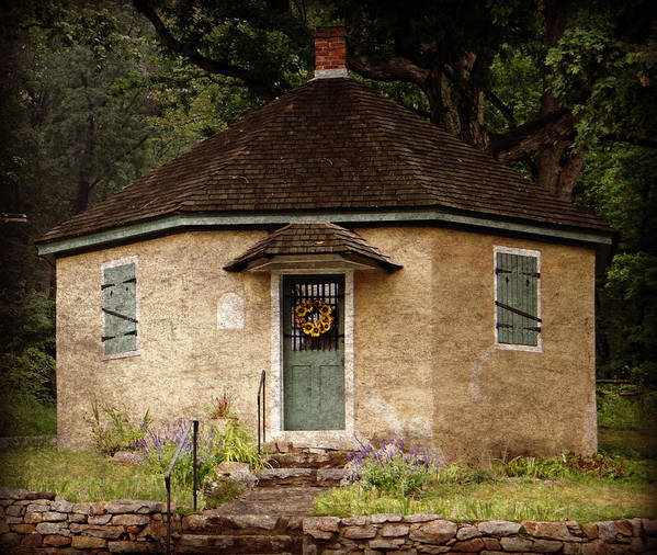 Building Art Print featuring the photograph Odd Little House by Brenda Conrad