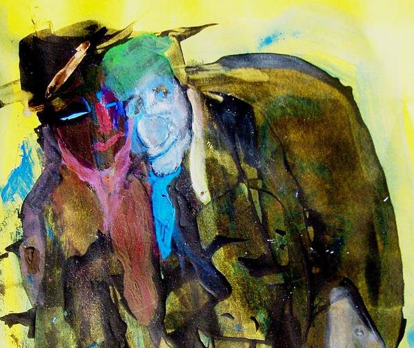 Abstract Art Print featuring the painting After Arraignment by Bruce Combs - REACH BEYOND
