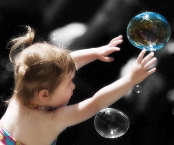 Bubbles Art Print featuring the photograph Opportunity by Peter Olsen