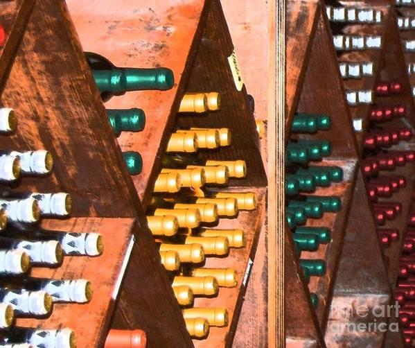 Wine Art Print featuring the photograph Sideways by Debbi Granruth