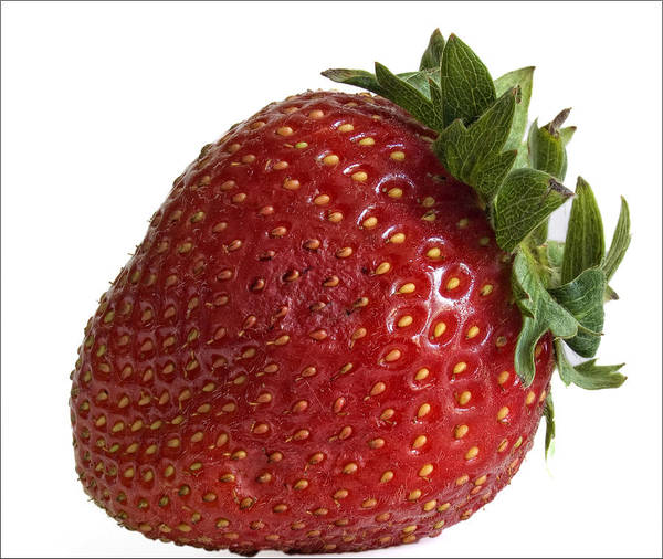 Fruit Art Print featuring the photograph Strawberry by Robert Ullmann