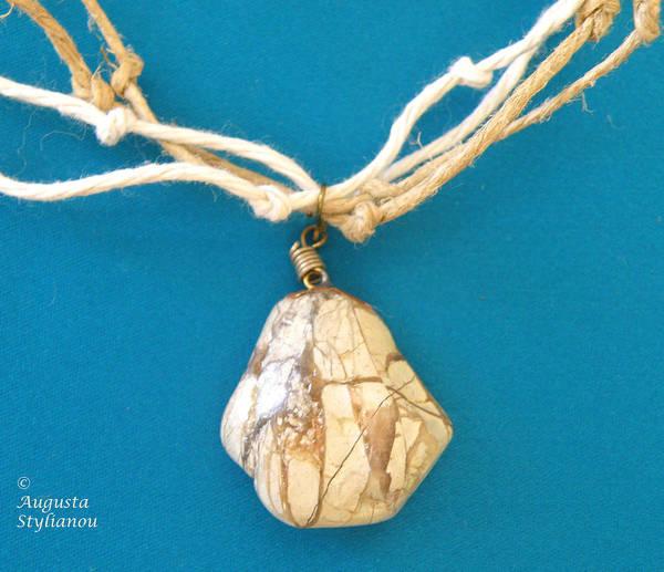 Jewelry Art Print featuring the jewelry Aphrodite Urania Necklace by Augusta Stylianou