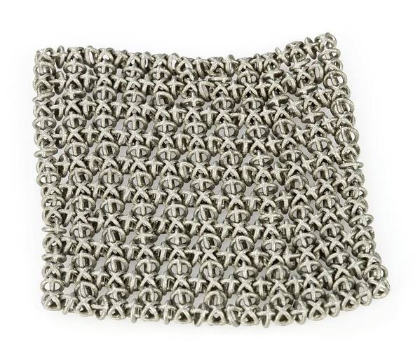 3d Printing Print featuring the photograph 3d Printed Chain Mail by Science Photo Library