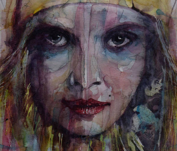 Model Art Print featuring the painting Be Young Be Foolish Be Happy by Paul Lovering
