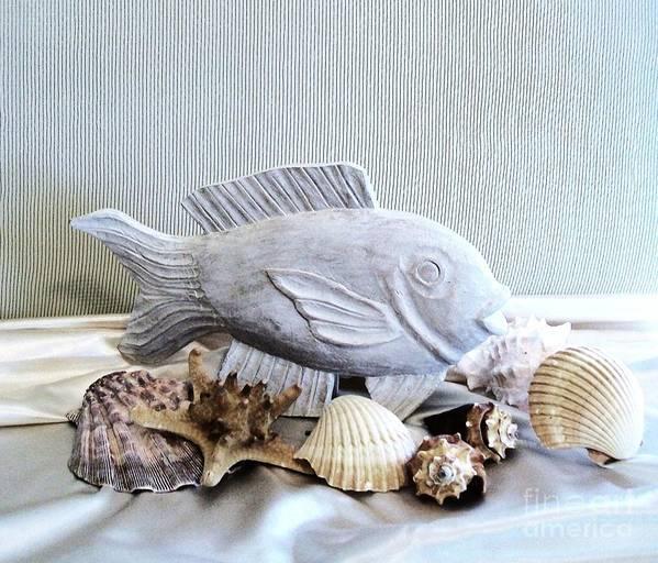 Photos Print featuring the photograph A Friend Of Nemo by Marsha Heiken