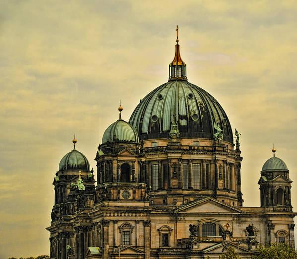 Berlin Art Print featuring the photograph Berlin Architecture by Jon Berghoff