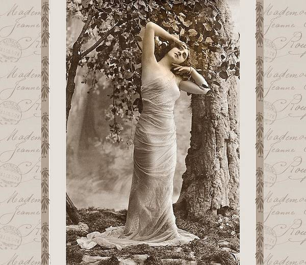 Vintage Art Print featuring the photograph Dream Of The Night by Mary Morawska