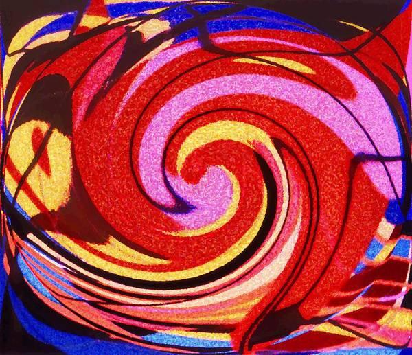 Eagle Art Print featuring the digital art Eagle And Bear by Ian MacDonald