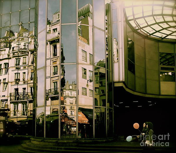 Reflections Art Print featuring the photograph Reflections IIi by Louise Fahy