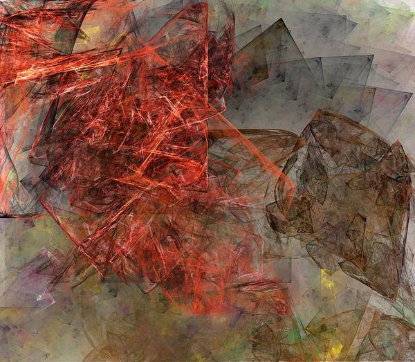 Digital Painting Art Print featuring the digital art Untitled 01-15-10-a by David Lane