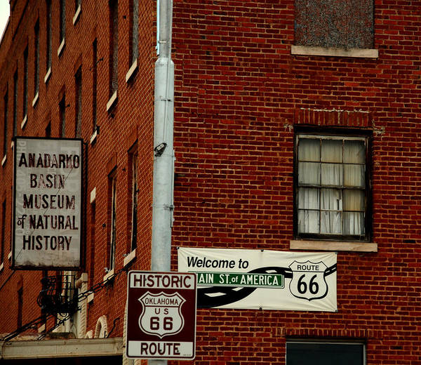 Landmark Art Print featuring the photograph Welcome To The Main Street Of America by Susanne Van Hulst