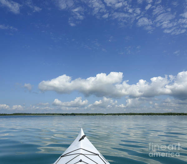 Beautiful Art Print featuring the photograph Kayak On Lake Ontario by Gord Horne