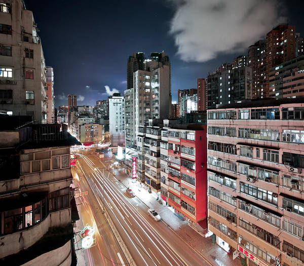 Horizontal Art Print featuring the photograph Apartments by Andi Andreas