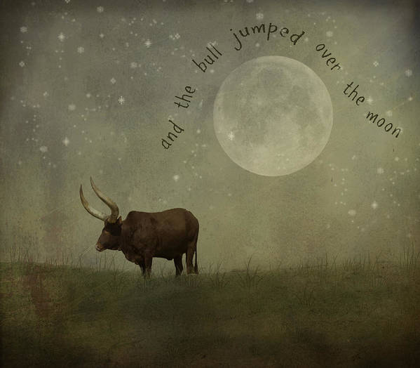 Nursery Rhyme Art Print featuring the photograph Hey Diddle Diddle by Juli Scalzi