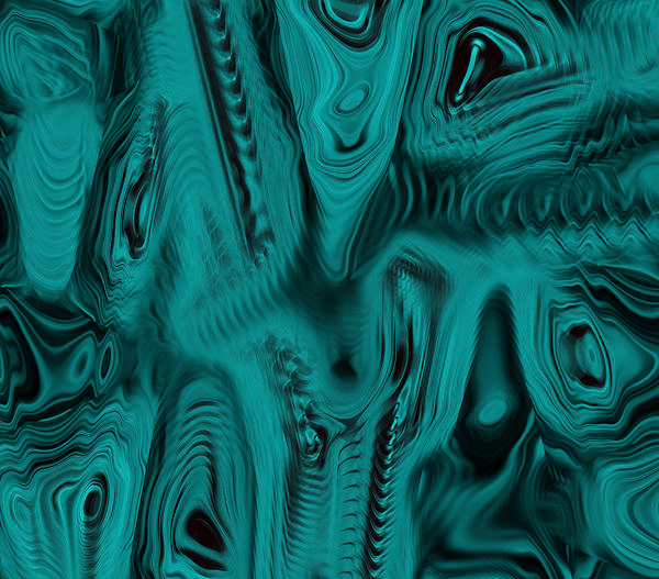 Abstract Art Print featuring the digital art In The Water by Joshua Sunday