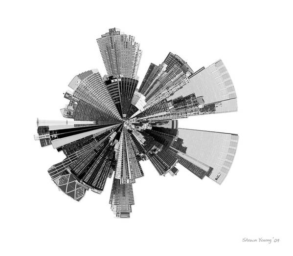 New York City Art Print featuring the photograph New York City Lily by Shawn Young