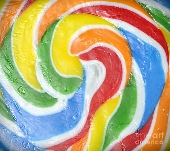 Swirl Art Print featuring the photograph Rainbow Swirl by Luke Moore