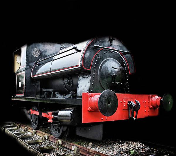 Steam Art Print featuring the photograph A Vintage Steam Train by Martin Newman