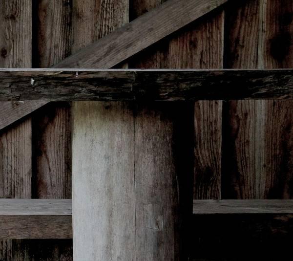 Wood Art Print featuring the photograph Platform by Odd Jeppesen