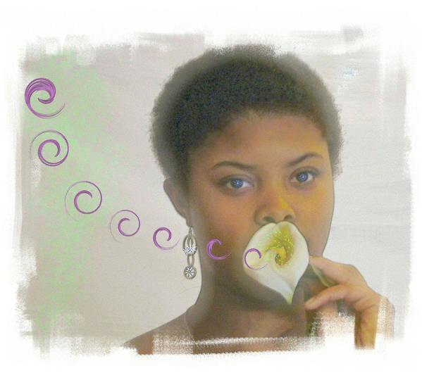 African American Art Print featuring the photograph The Song by Rose Guay