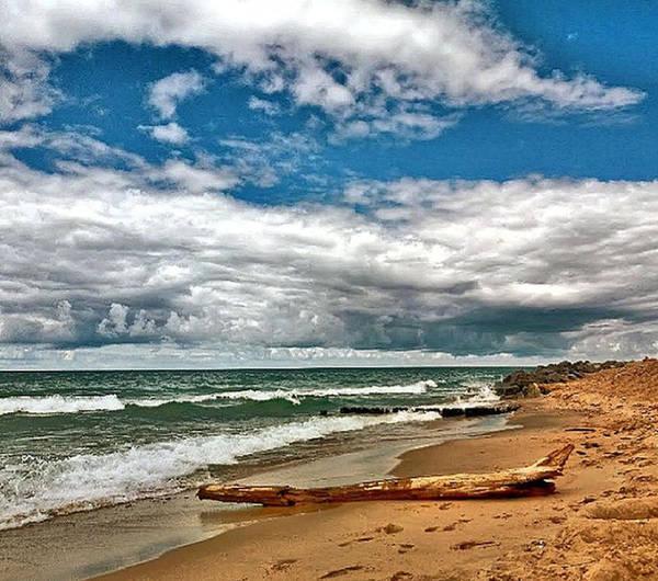 Art Print featuring the photograph Beach by Photo Crane