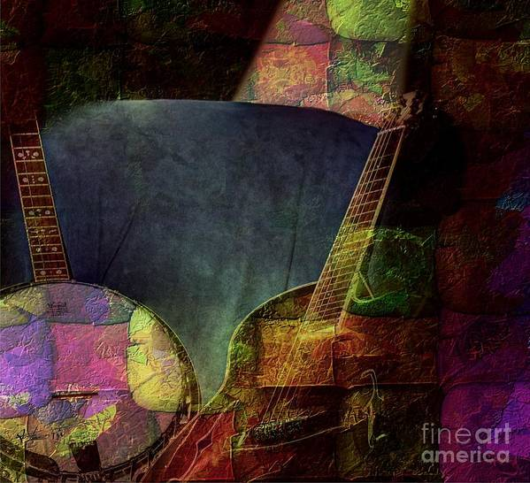 Acoustic Art Print featuring the photograph Changing Tune By Steven Langston by Steven Lebron Langston