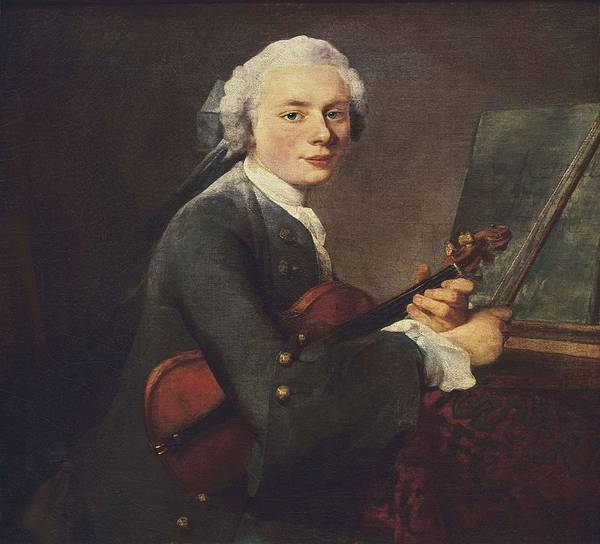 Horizontal Art Print featuring the photograph Chardin, Jean Baptiste Sim�on by Everett