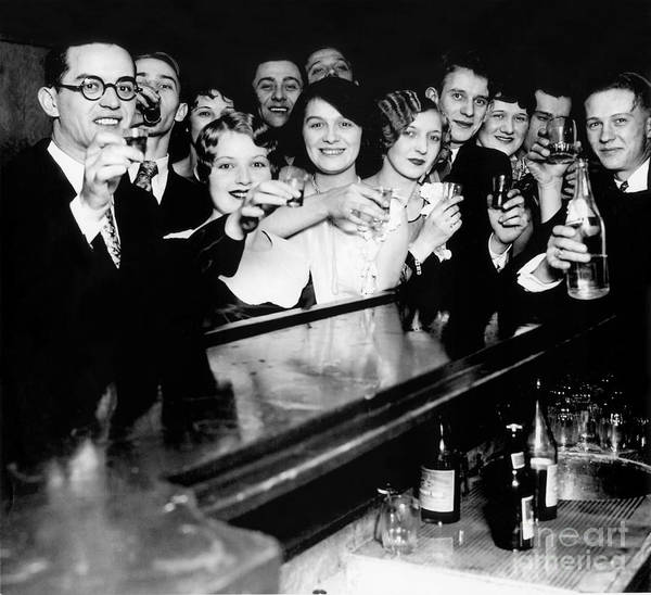 Stamp Out Prohibition Art Print featuring the photograph Cheers To You by Jon Neidert