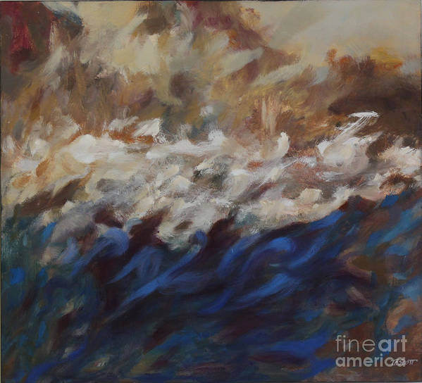 Art Print featuring the painting Currents by Timothy Scott